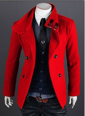 11 best Men's red trench coats images on Pinterest