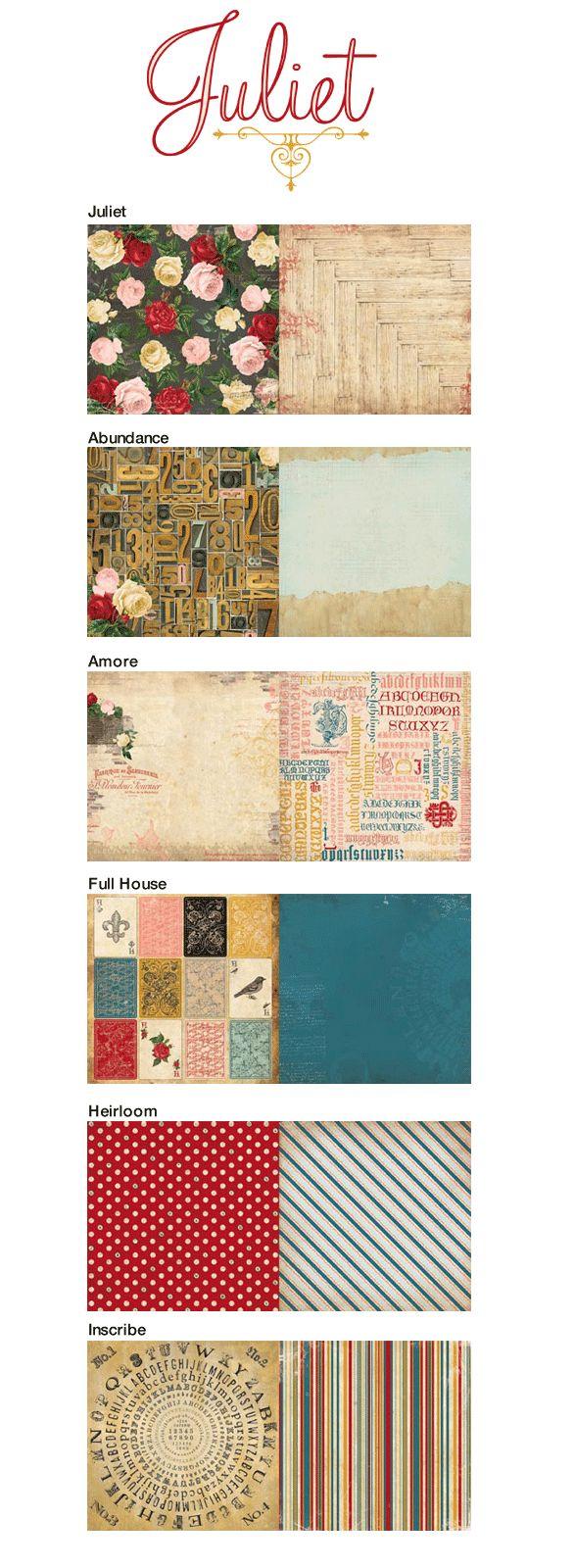 Juliet scrapbook ideas - Bobunny S Newest Collection Juliet