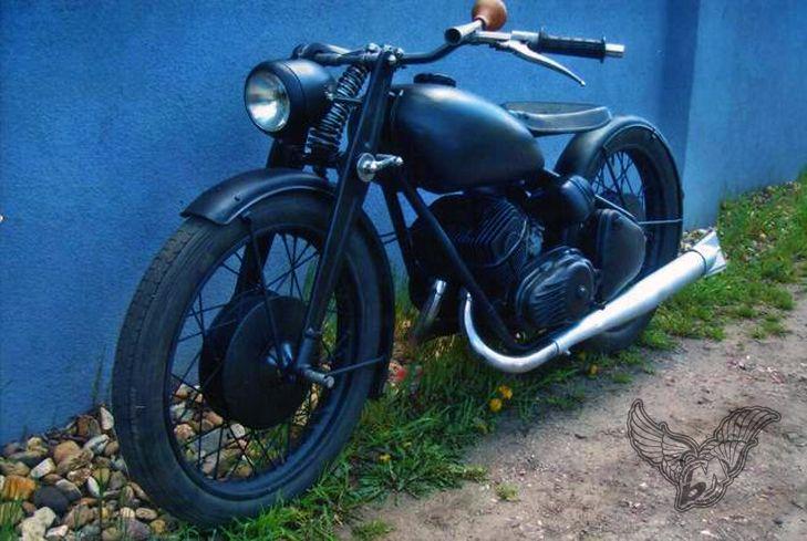 custom csepel 125/pannonia 250 bobber