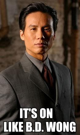 SVU. Also the first Jurassic Park, and the voice of Li-Shang in Mulan :)