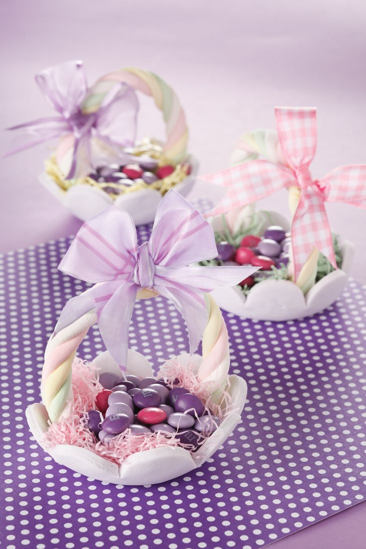 Easter Sugar Baskets!