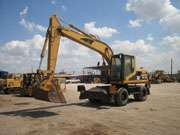Caterpillar wheel excavator for sale at Mico: www.MicoEquipment.com