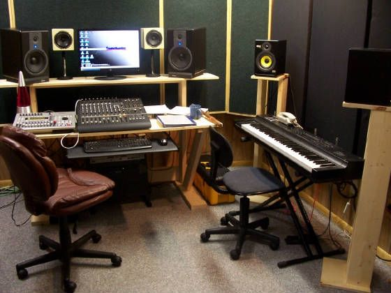Home Recording Studio Furniture: Recording Studio Furniture Workstation, Home  Recording Studio Design