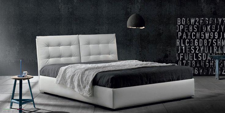 Zoe4 - letto in promozione collezione Big Bang #letto #imbottito #contenitore #promozione #promo