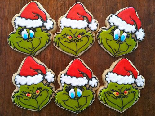 Grinch Cookies by Bo