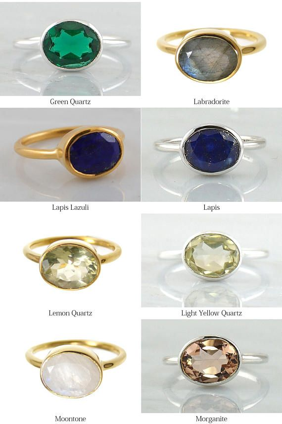 detailed images hot sale super specials Gems Ring - Gemstone rings - Gemstone Ring - Stackable Ring - Gold ...
