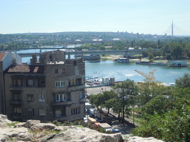 Beutiful view to Danube.. Belgrade, Serbia