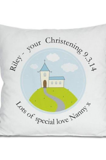 Personalised Boys Christening Cushion 220x330 The best christening gift ideas