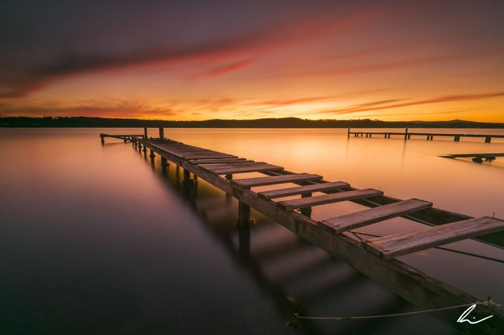 Sunset glow - Lake Macquarie