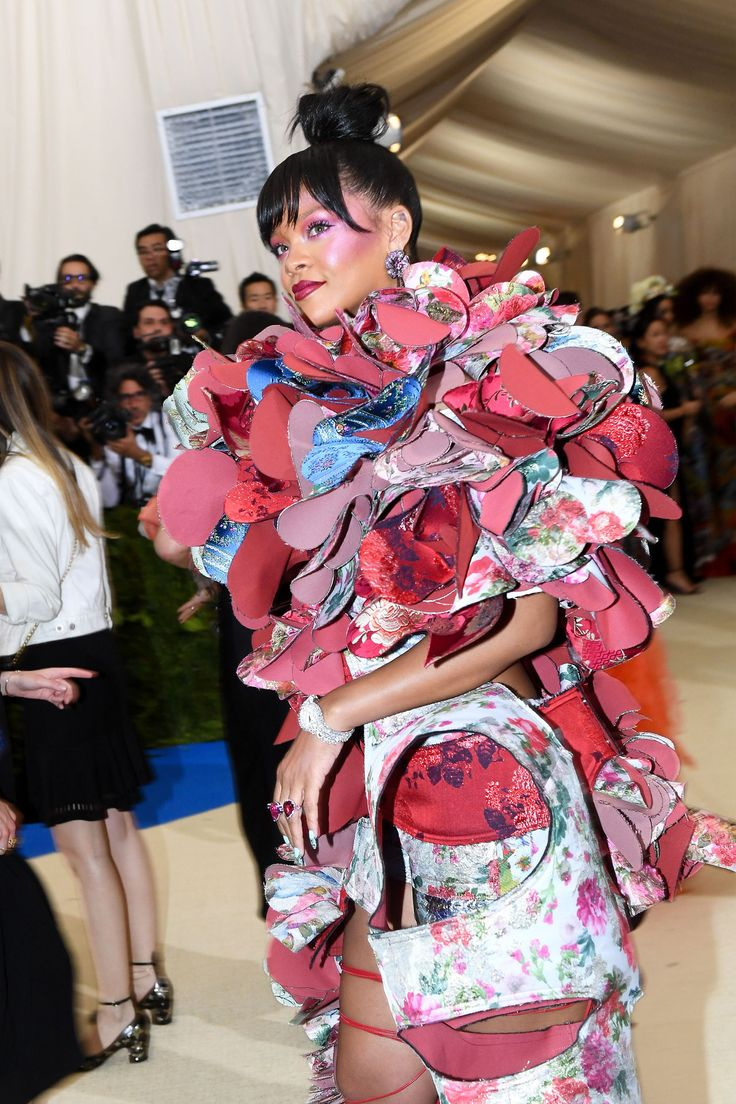 Rihanna attends the 'Rei Kawakubo/Comme des Garcons: Art Of The In-Between' Costume Institute Gala at Metropolitan Museum of Art on May 1, 2017 in New York City.