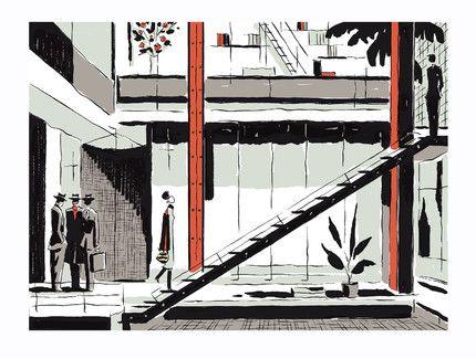 François Avril - tiphaine-illustration #illustration #graphisme #design #city
