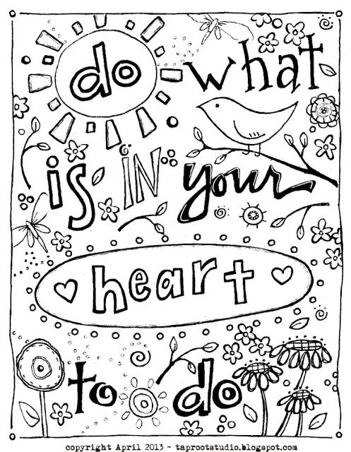 The 25+ best Quote coloring pages ideas on Pinterest | Adult ...