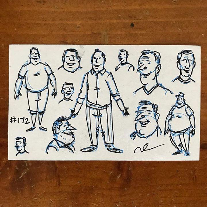 #willorr #art #172 #side1 #charactersketches #saturday #pensketches #cartoonist #cartoons #sketching #drawing #portraitart #penandinkportraits #penandinksketches #pendrawing #draw #art #handdrawn #artist #caricature #illustrations #artists #pilotg2pens #pilotg2 #sketch #pen #ink http://ift.tt/2rNJG85 - http://ift.tt/1U6eqe8