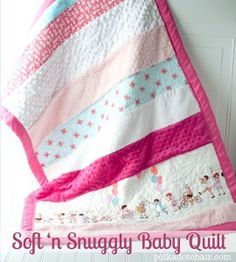 Another Soft n Snuggly Baby Quilt - The Polka Dot Chair