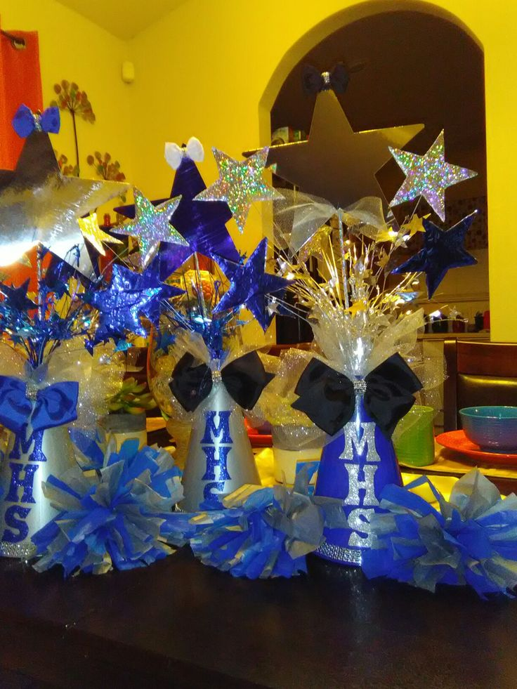Megaphones, bows, pom poms, and shimmer... the perfect ...