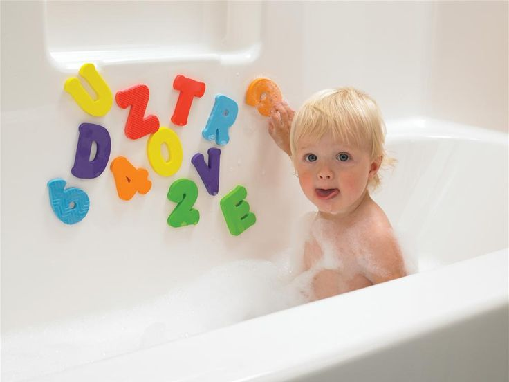 Bath time toy - 3+ Years - Count n' Spell Appliques