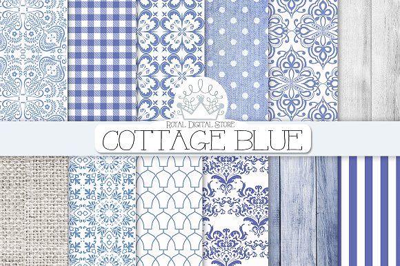 BLUE DAMASK cottage digital paper by RoyalDigitalStore on @creativemarket  #chinablue #bluedamask #navyblue #patterns #bluetexture #blue #damask #cottagechic #shabbychic