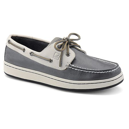 Sperry Sperry Cup 2-Eye | Men's - Grey/Off White