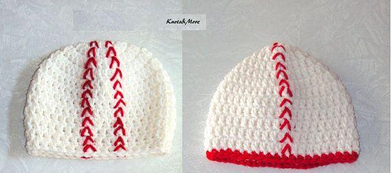Baseball Hat  Crochet Baseball Hat  Unisex Baseball by KnotsnMore