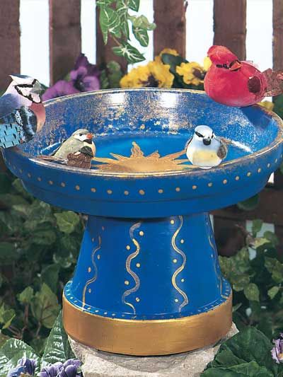 Bird Bath (on freepatterns.com - you'll get lost there as well!)