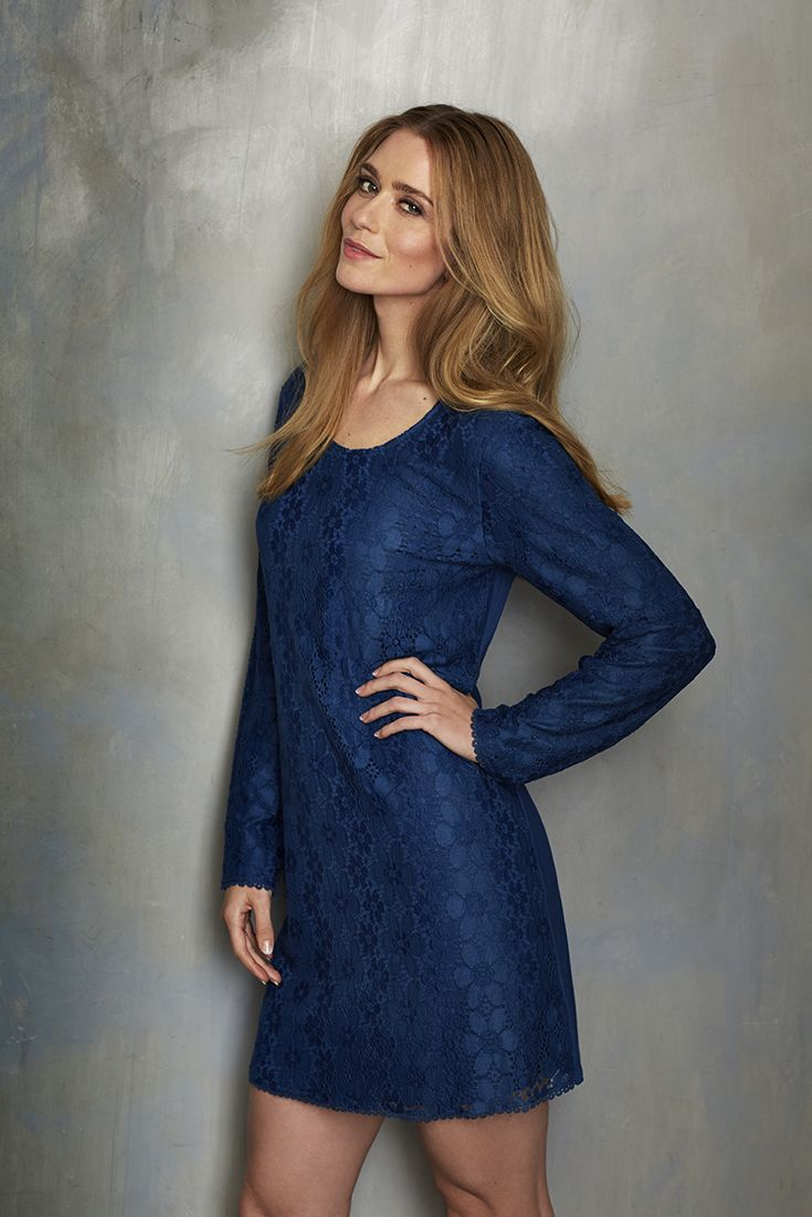 Beautiful floral blue lace nightdress from Pastunette Deluxe is a favourite this season ....