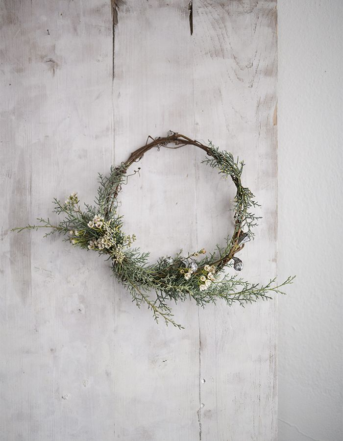 X-mas wreath www.gretchengretchen.com