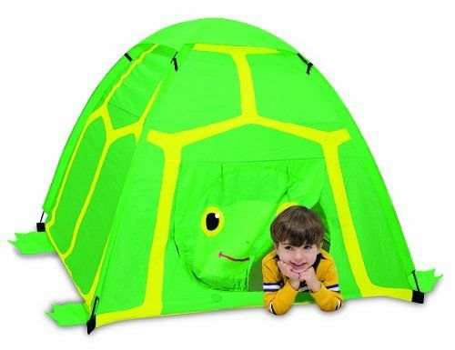 Tootle Turtle Tent Tootle Turtle Tent by Melissa And Doug. $57.00. Turn any room into a Sunny Patch adventure land with this easy-to-set-up tent. The bold graphics invite children to enter the turtles shell for hours of fun!