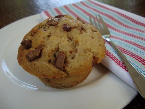 Recipe: Banana choc chip muffins