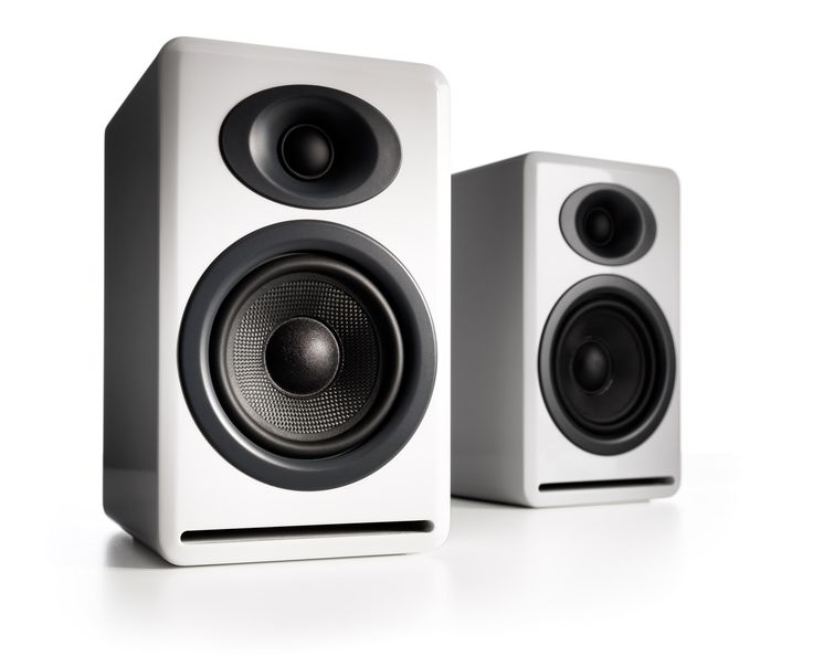 Audioengine P4 Premium Passive Bookshelf Speakers A high-performance bookshelf speaker pair with the same great looks and sound as our powered speakers. Experience the signature Audioengine sound and