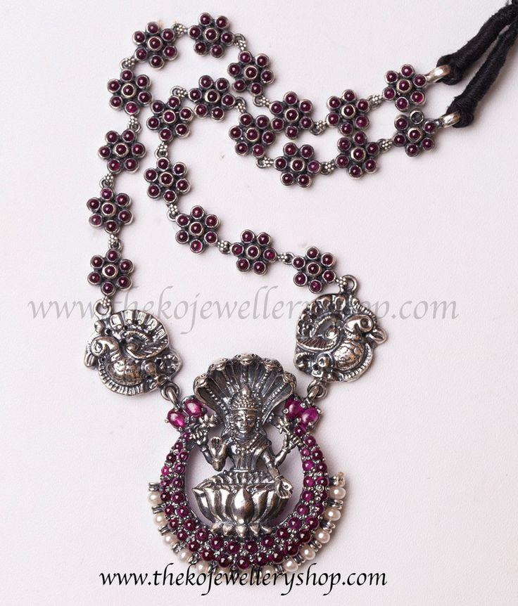 The Adishesha Antique Silver Necklace   The KO Jewellery Shop