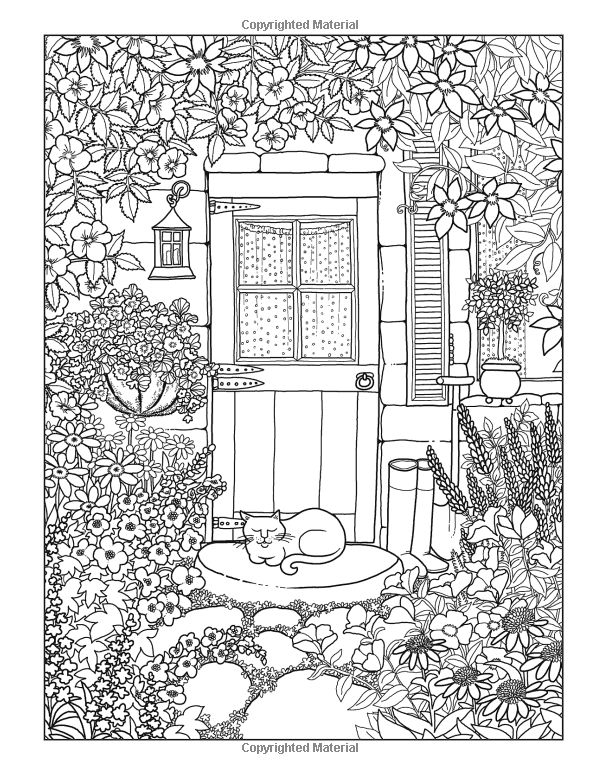 Amazon.com: Inkspirations in the Garden: Fabulous Floral Coloring Designs Celebrating Life in Full Bloom (9780757319501): Beth Logan: Books