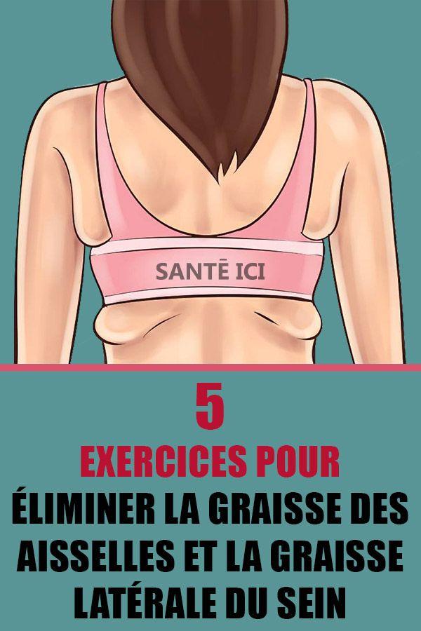 exercices pour se débarrasser de la graisse aisselle rapide