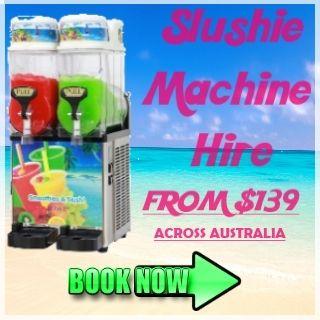 Slushie Machine Hire Deal