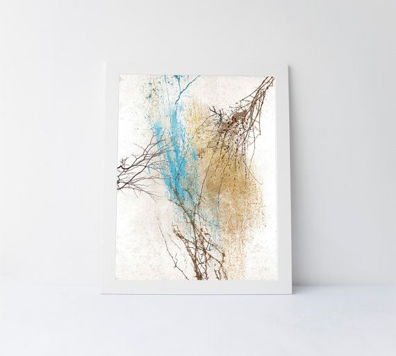 Printable abstract art trees abstract modern by PrintableGiftIdeas