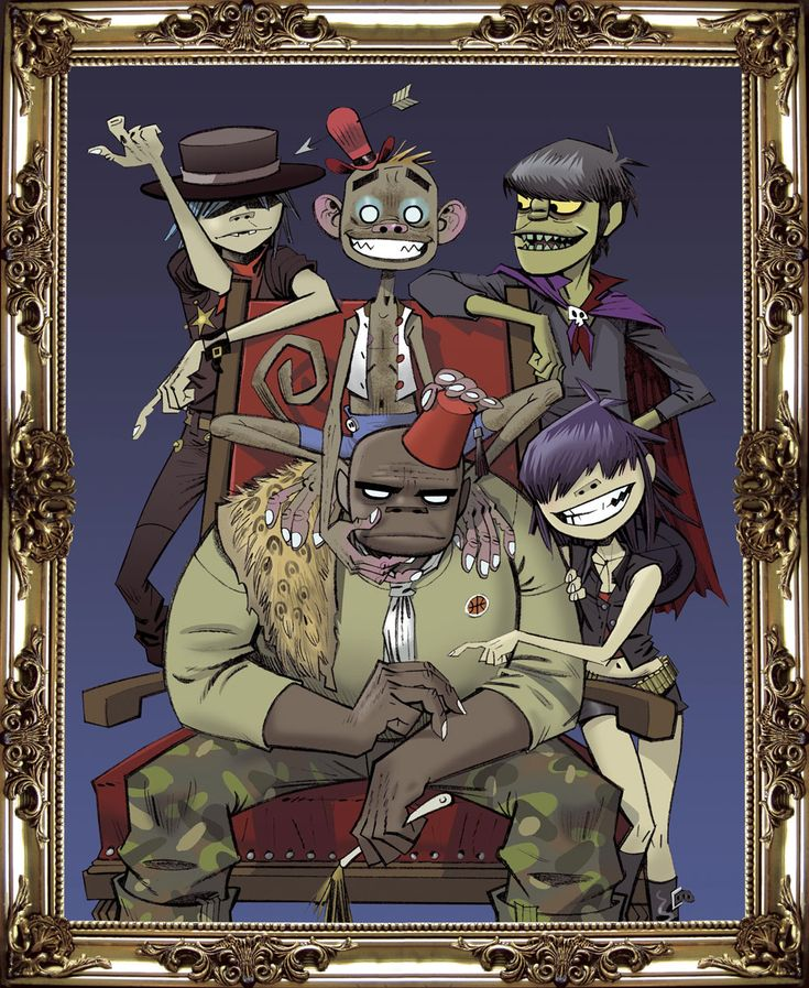 Gorillaz - best animated band in the world, ever