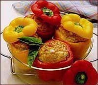 Macedonian recipes - Stuffed peppers