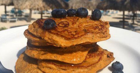 Sascha's sweetpotato pancakes