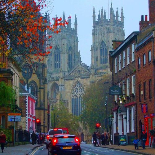 York. England-- It's crazy to think that I was here not to long ago. One of my favorite cities that we visited.