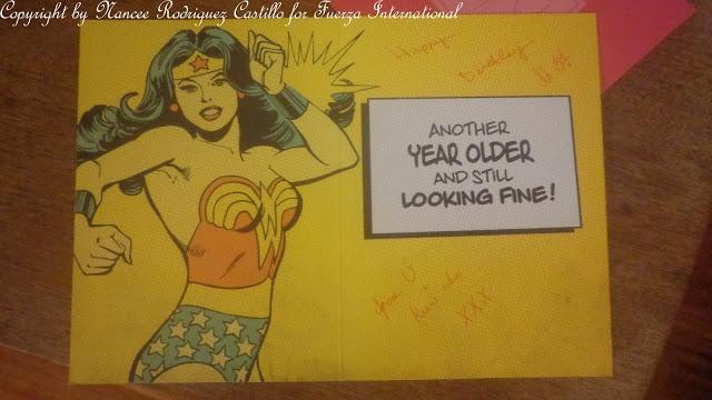 My 37th birthday card April 2013