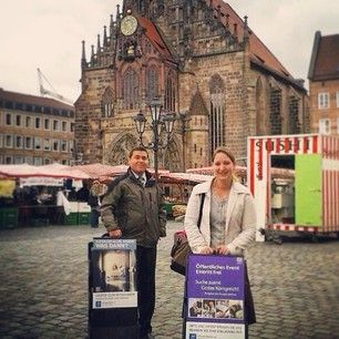 Public witnessing in Nürnberg, Germany. Photo shared by @jorge_n_desi Submit your photos etc…