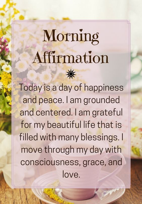 i am struggling so i shall try to adopt the practice of reciting affirmations so that i will believe and live my life as so