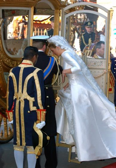 Wedding of Máxima Zorreguieta Cerruti (now Queen Maxima) to King Willem-Alexander of The Netherlands