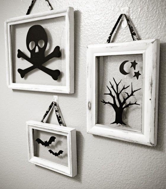 Halloween Floating Frames