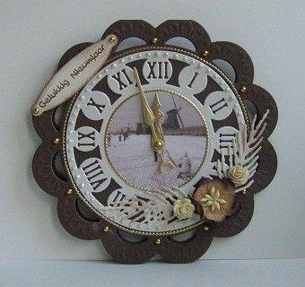Anja die clock CR 1234