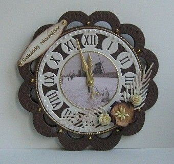 Anja die clock CR 1234
