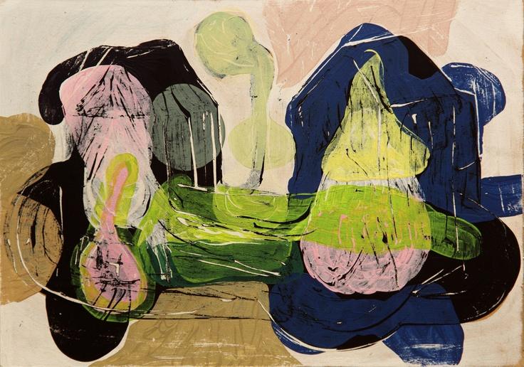 Mind Map #1 (2011) Painting by Norwegian artist Øyvind Suul. #art #painting #suul #2D #Norway