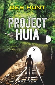 Project Huia by Des Hunt. Logan's grandfather saw a huia bird in the 1940s when it was thought to be extinct. More than 60 years later, 11-year-old Logan has returned to the Manawatu with Grandpop and a scientist to try and solve the mystery of what happened to the huia. Will the huia still be there, and will its DNA still be valuable for scientific research into NZ's native fauna?