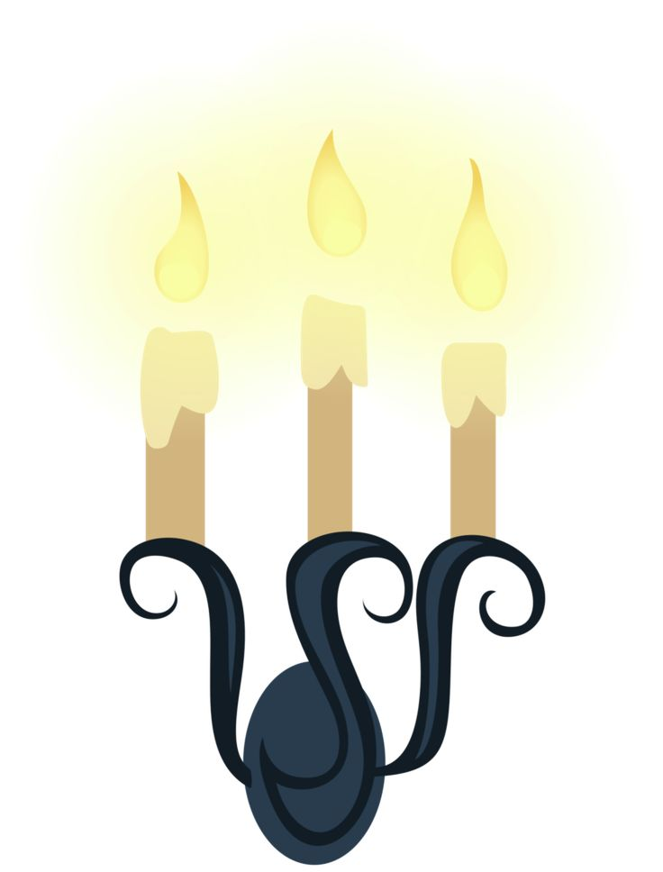 MLP Resource: Candle Sconce 01 by ZuTheSkunk.deviantart.com on @DeviantArt