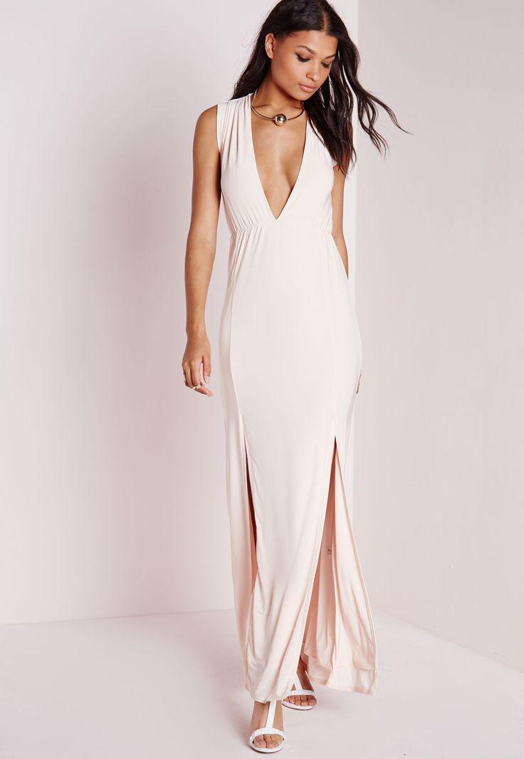Long slinky evening dresses