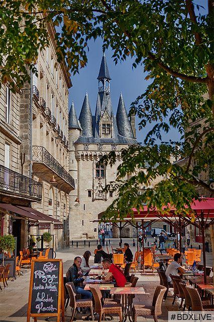 """#Terrace """"place du Palais"""" - Photo © Deepix // #Bordeaux #BDXLIVE"""